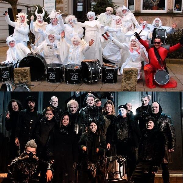 Bateria Volle Petaj NL bommelero's elfia haarzuilens 2019 percussionisten
