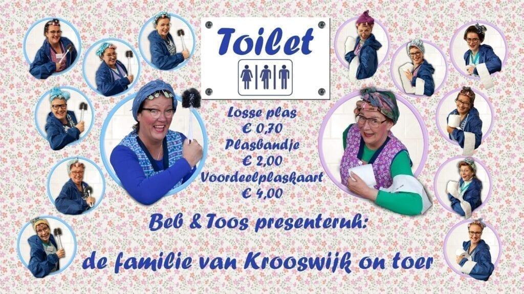 toilet toiletten toiletdames toiletjuffrouw elfia beb toos van krooswijk
