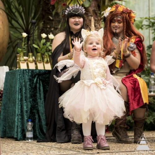 Kinderkostuumparade Elfia Haarzuilens 2020