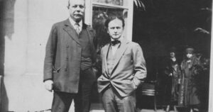 Houdini and Doyle in 1920